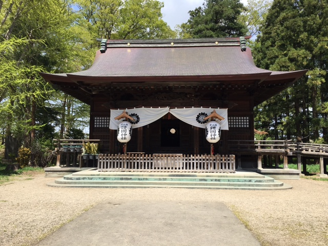 青森県護国神社 本殿